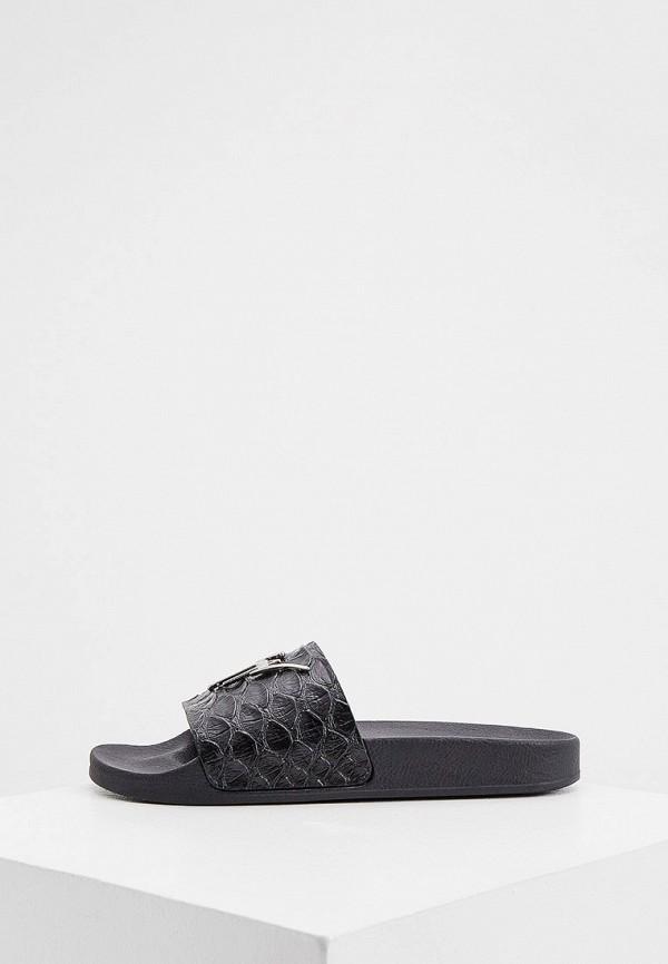 мужские сандалии giuseppe zanotti, черные