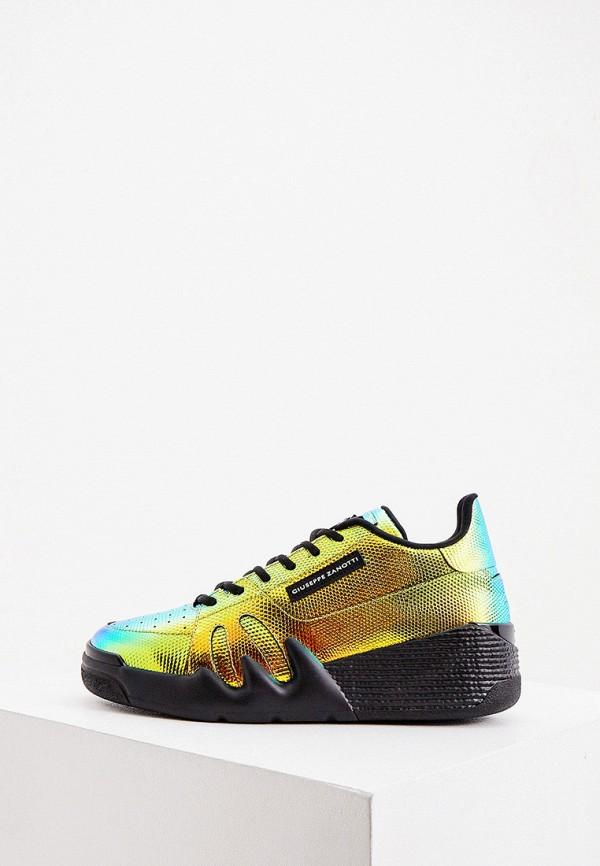 женские кроссовки giuseppe zanotti, разноцветные