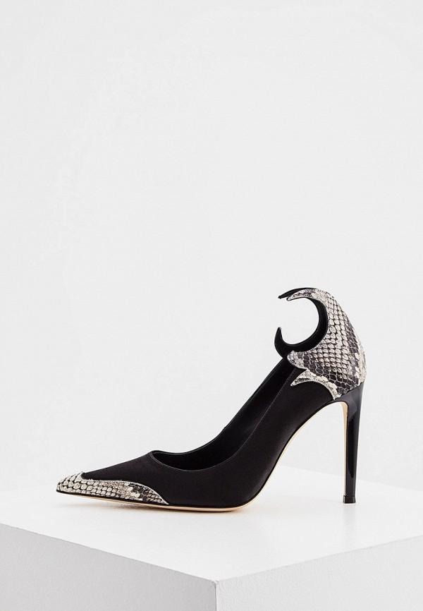 женские туфли-лодочки giuseppe zanotti, черные