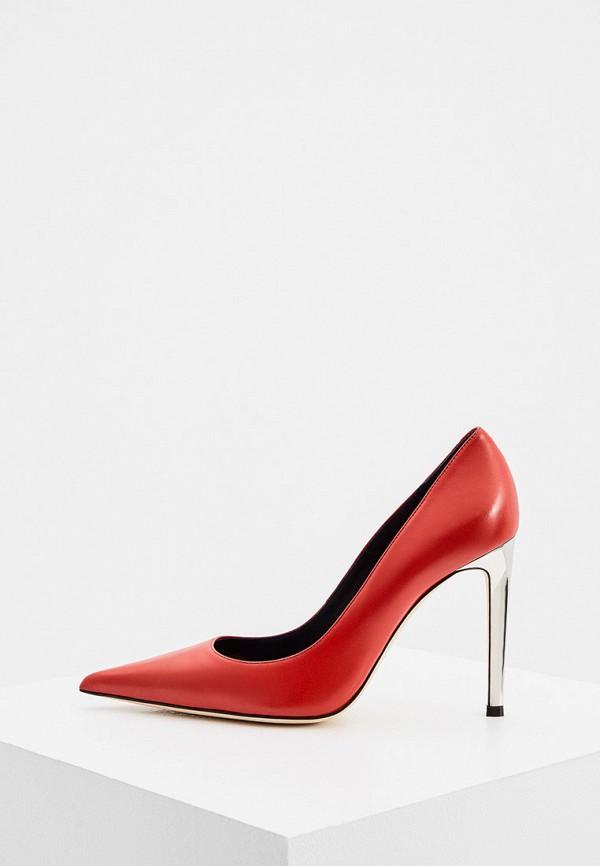 женские туфли-лодочки giuseppe zanotti, красные