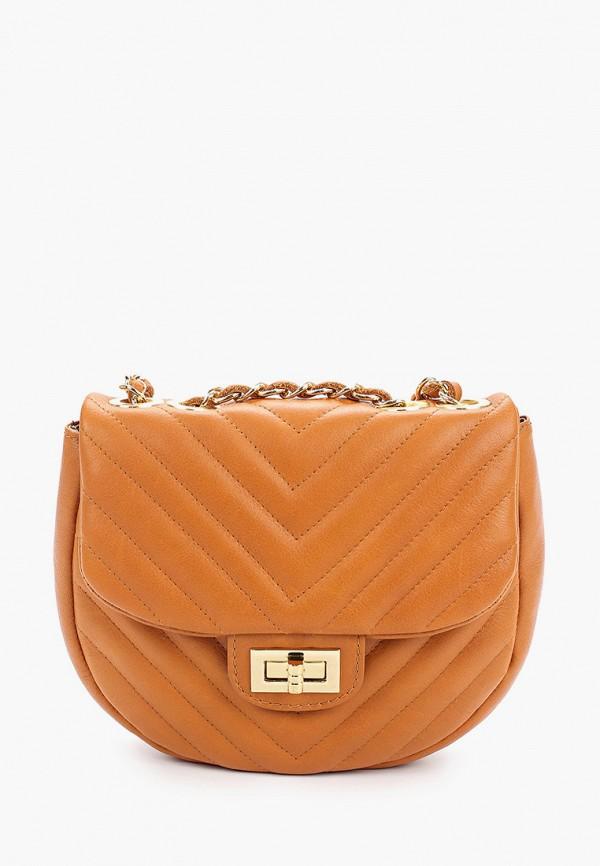 женская сумка giorgio costa, коричневая
