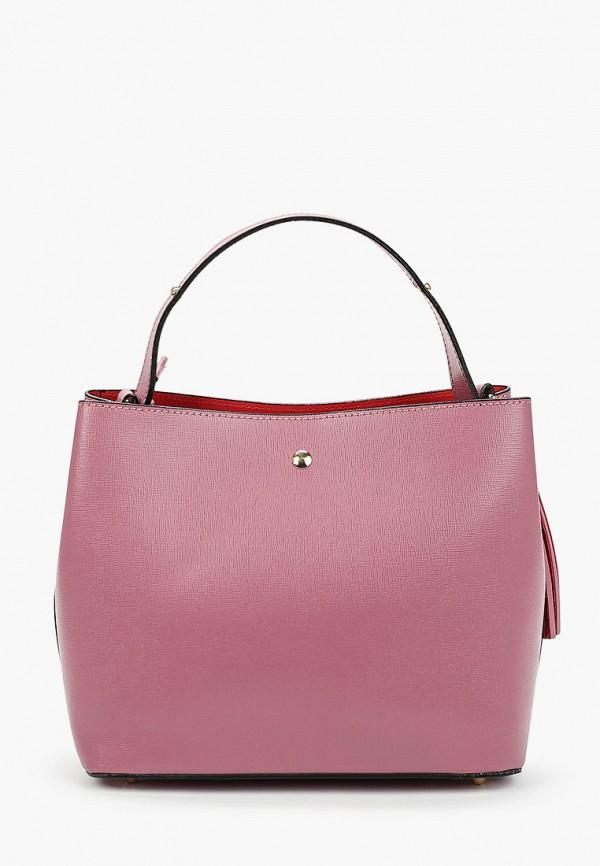 женская сумка giorgio costa, розовая