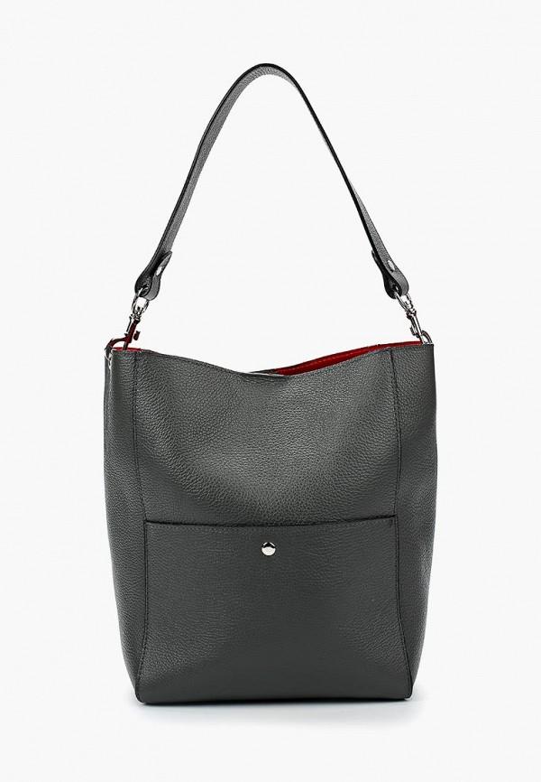 женская сумка giulia massari, серая