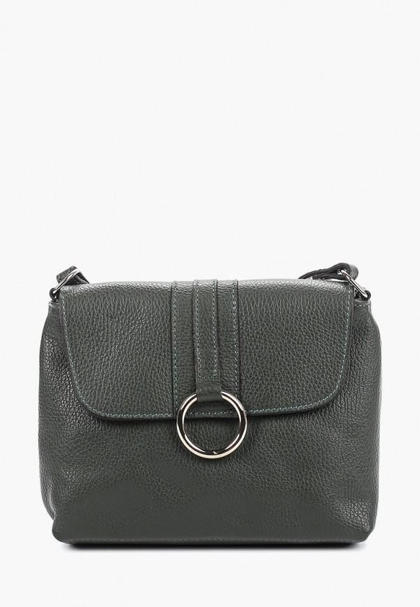 женская сумка giulia massari, хаки