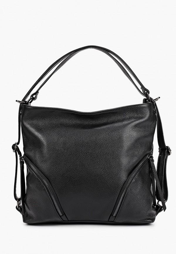 женская сумка giulia massari, черная