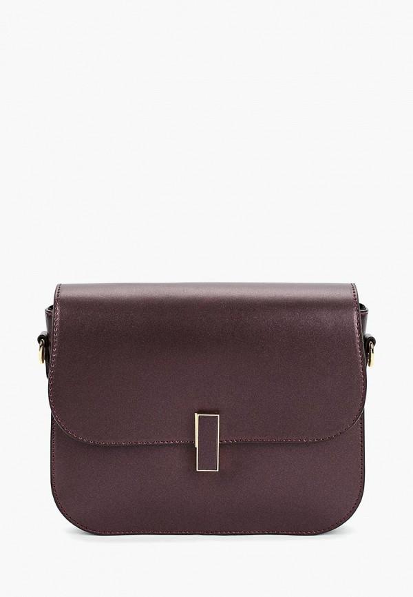 женская сумка giulia massari, фиолетовая