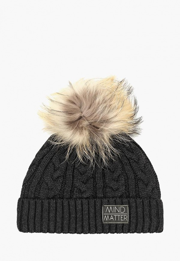 шапка giamo для мальчика, черная
