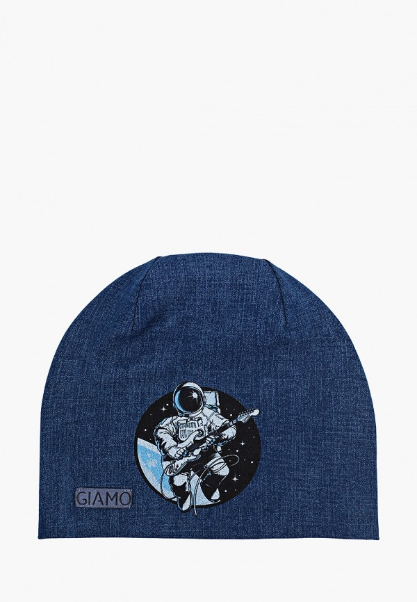 шапка giamo для мальчика, синяя