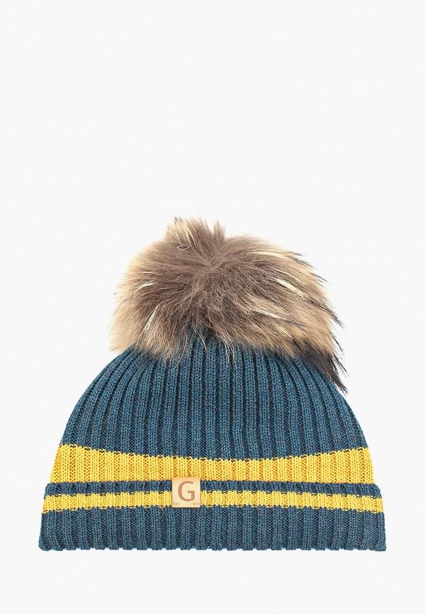 шапка giamo для мальчика, бирюзовая