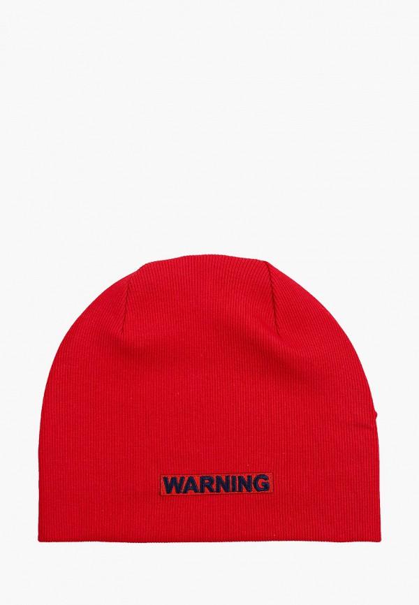 шапка giamo для мальчика, красная