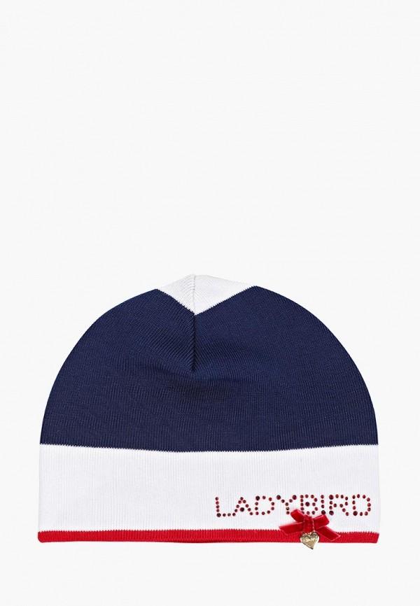 шапка giamo для девочки, разноцветная