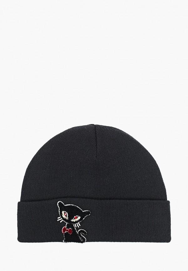 шапка giamo для девочки, серебряная