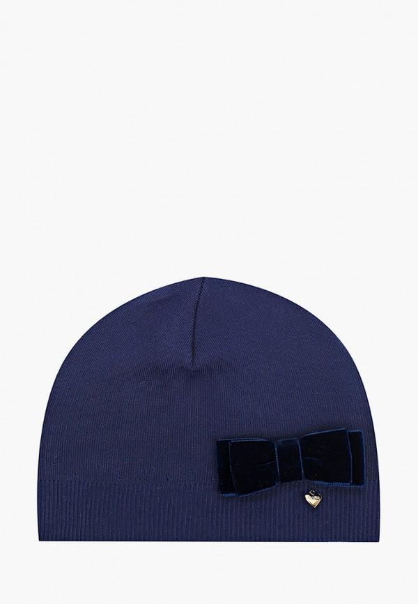 шапка giamo для девочки, синяя