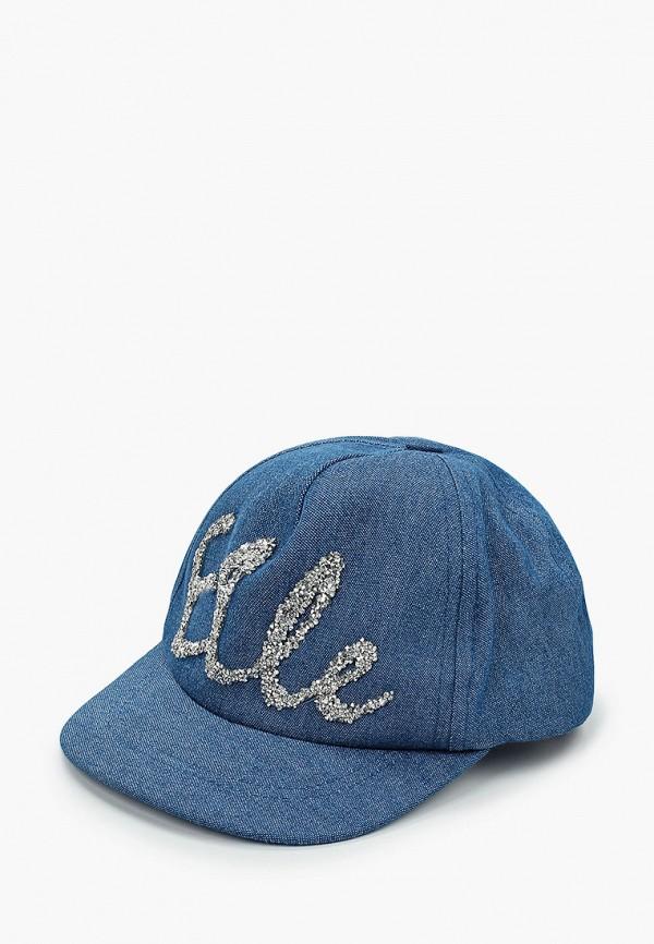 бейсболка giamo для девочки, синяя