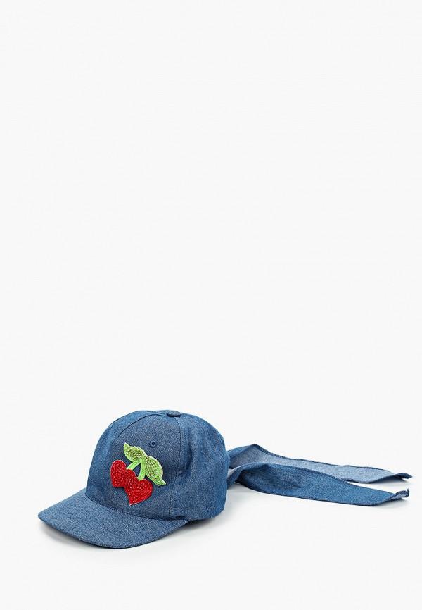 кепка giamo для девочки, синяя