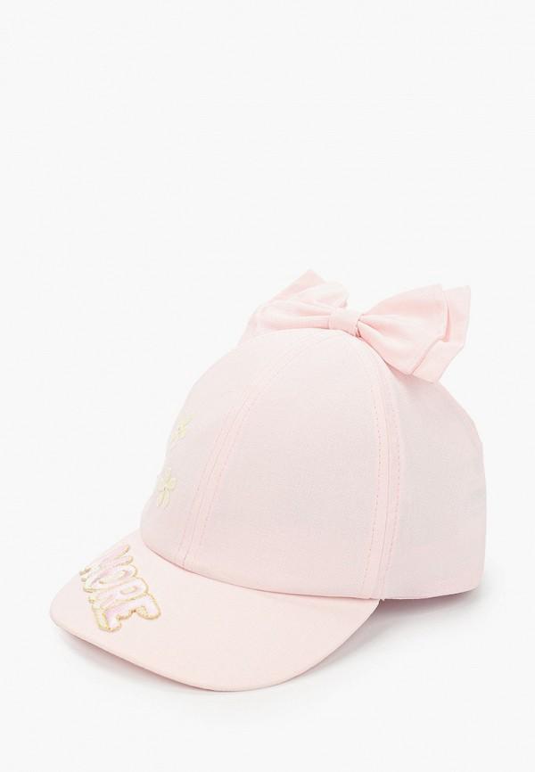 бейсболка giamo для девочки, розовая