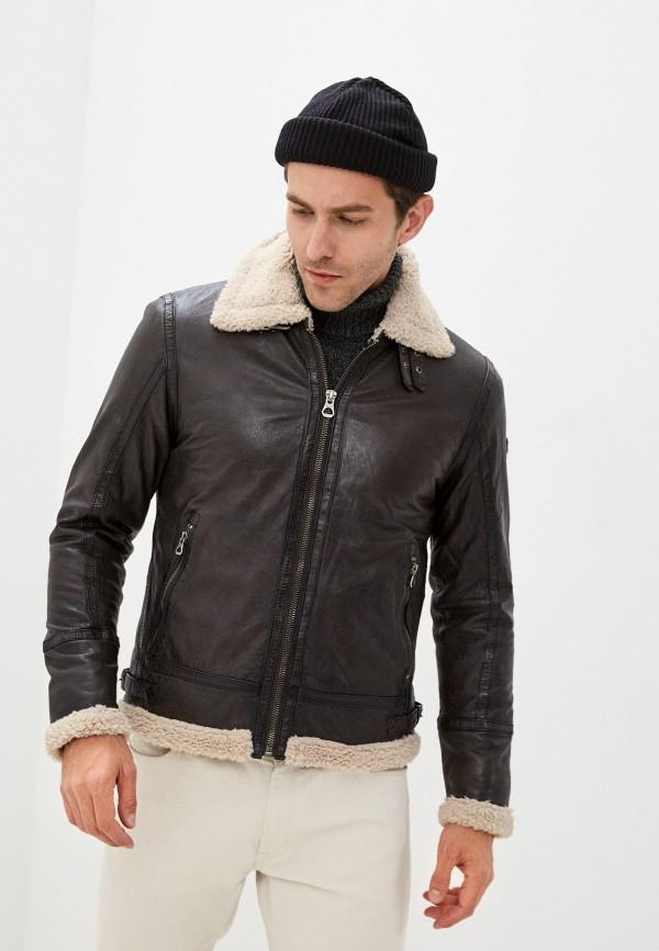 мужская куртка gipsy, коричневая