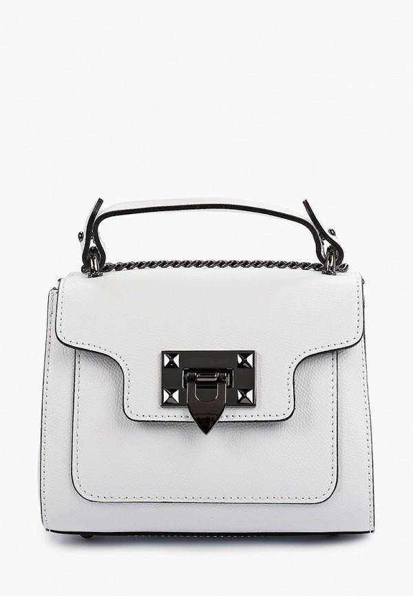 женская сумка giulia monti, белая