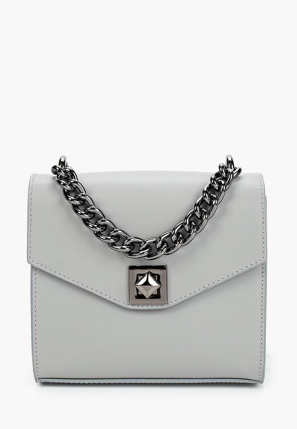 женская сумка giulia monti, серая