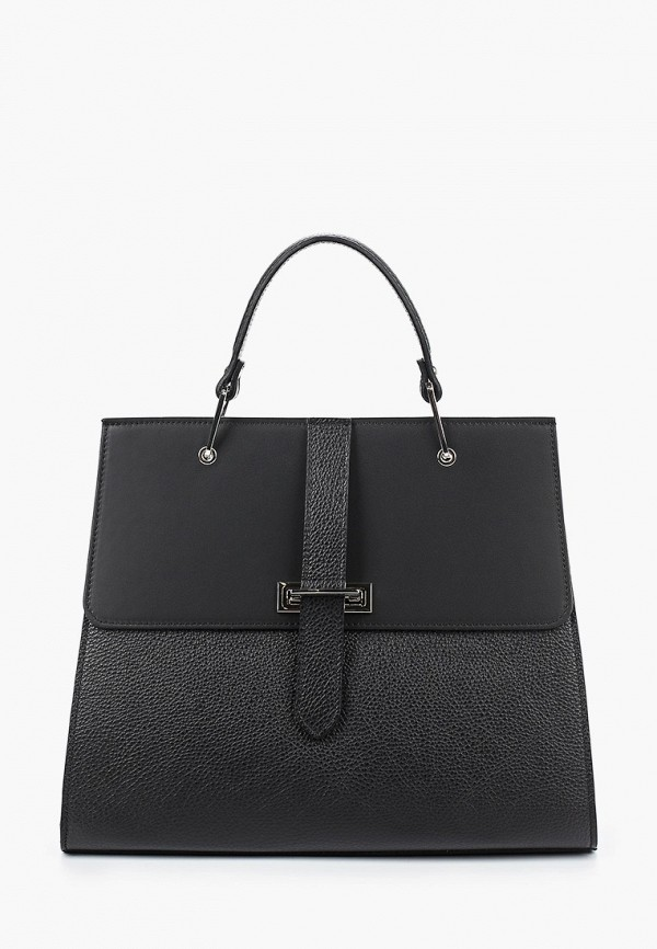 женская сумка через плечо giulia monti, черная