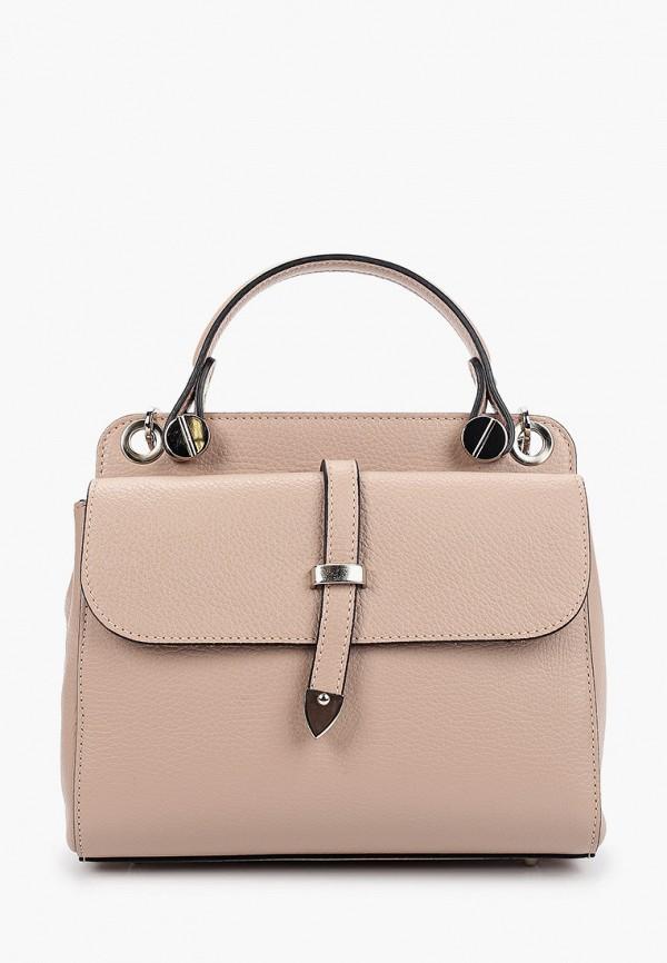 женская сумка giulia monti, бежевая