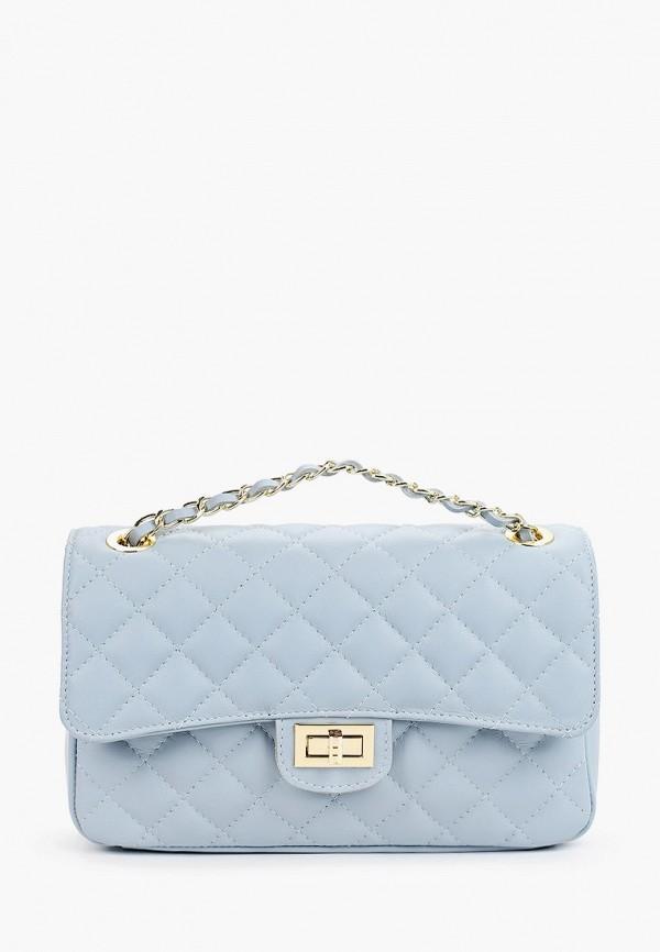 женская сумка giulia monti, голубая