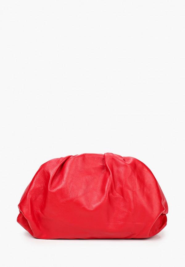женская сумка giulia monti, красная