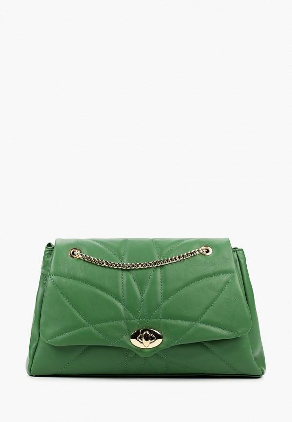 женская сумка giulia monti, зеленая