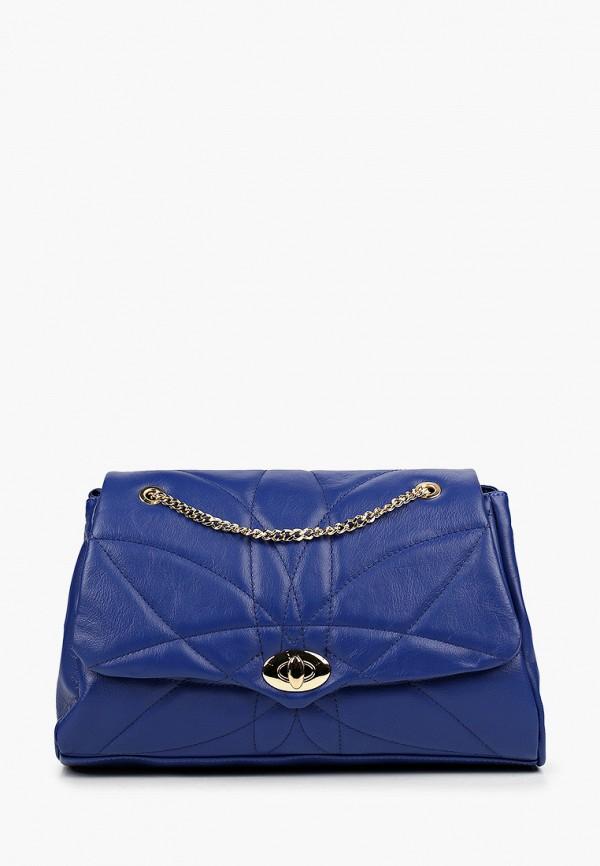 женская сумка giulia monti, синяя