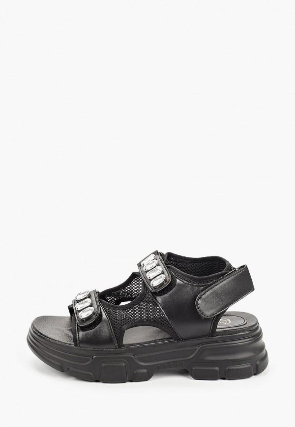 женские сандалии givana, черные