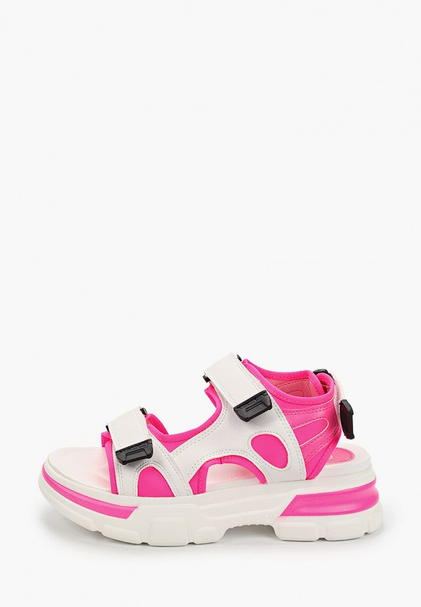 женские сандалии givana, розовые