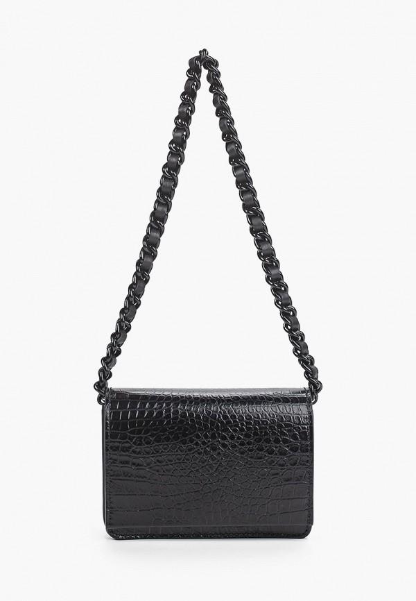 женская сумка с ручками gianni chiarini, черная
