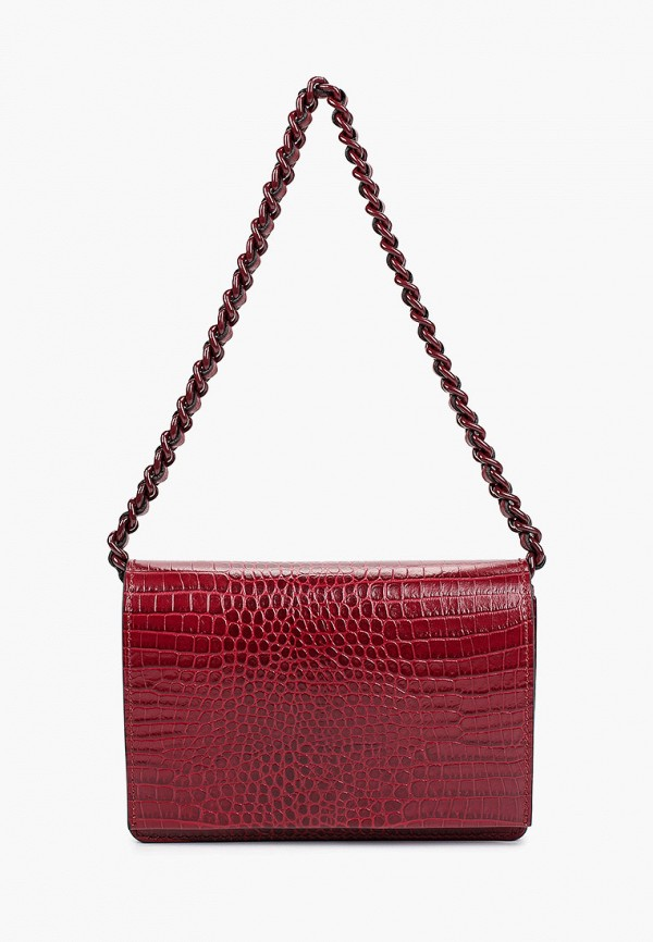 женская сумка gianni chiarini, бордовая