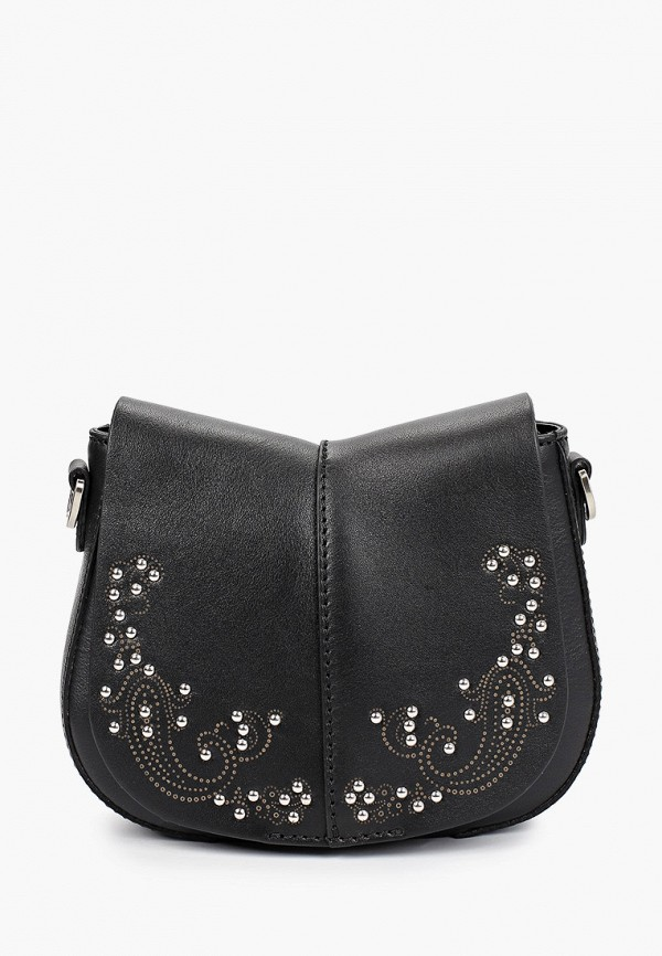 женская сумка через плечо gianni chiarini, черная
