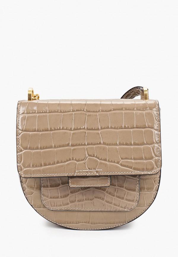женская сумка gianni chiarini, бежевая