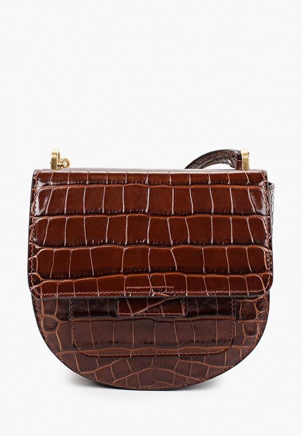 женская сумка gianni chiarini, коричневая