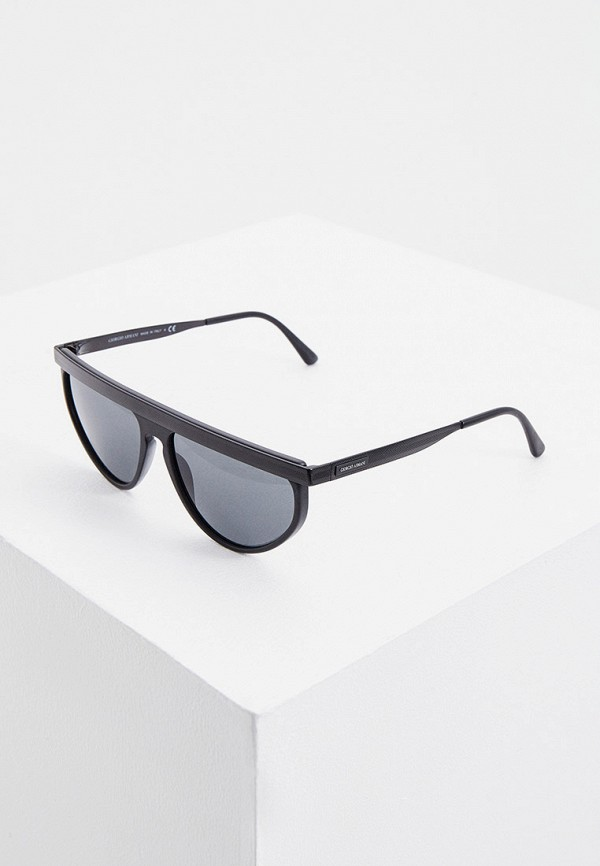 мужские солнцезащитные очки giorgio armani, черные