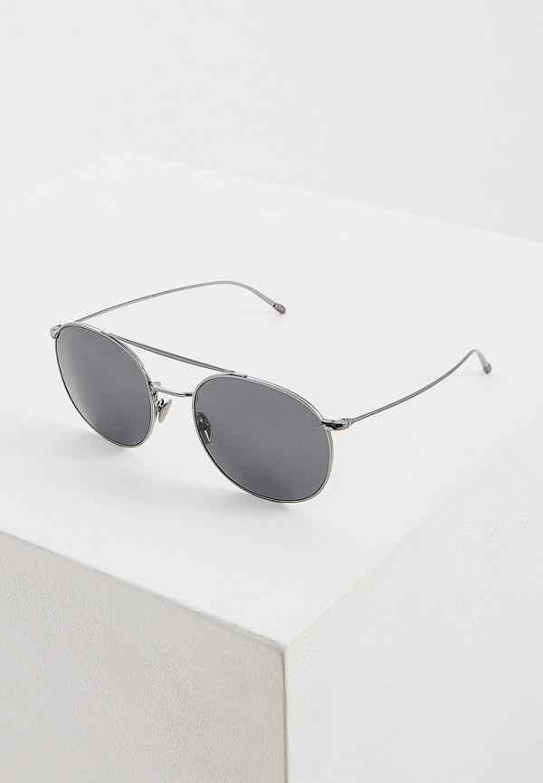 Фото - Очки солнцезащитные Giorgio Armani серебрянного цвета