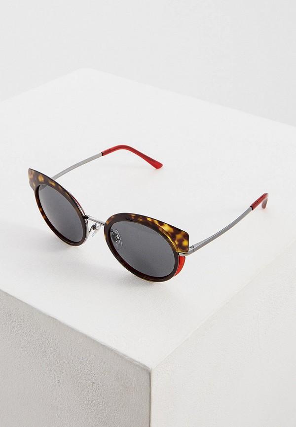 Фото - Очки солнцезащитные Giorgio Armani коричневого цвета