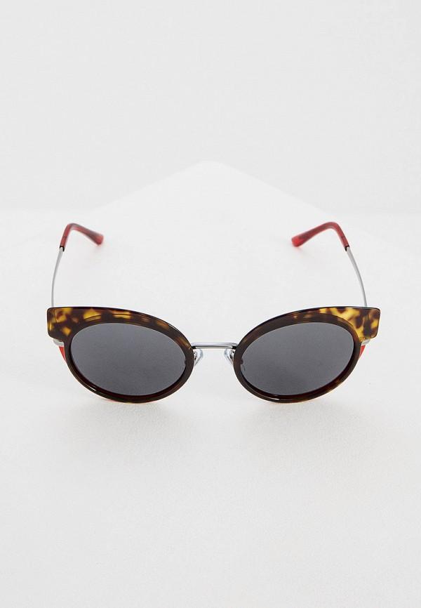 Фото 2 - Очки солнцезащитные Giorgio Armani коричневого цвета