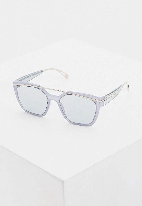 женские солнцезащитные очки giorgio armani, голубые