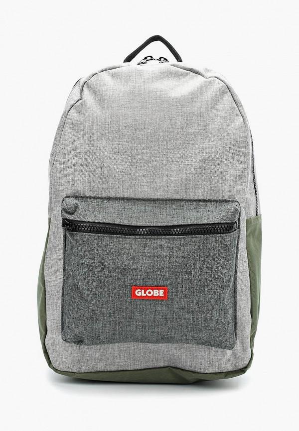Купить мужской рюкзак Globe серого цвета