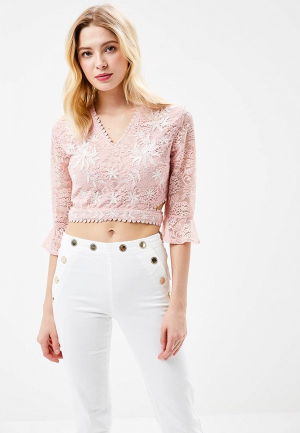 Блуза Glamorous Glamorous GL008EWADAO4 блуза glamorous ck4122 light pink gingham