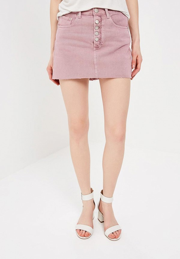 Юбка джинсовая Glamorous Glamorous GL008EWADAS8 блуза glamorous ck4122 light pink gingham