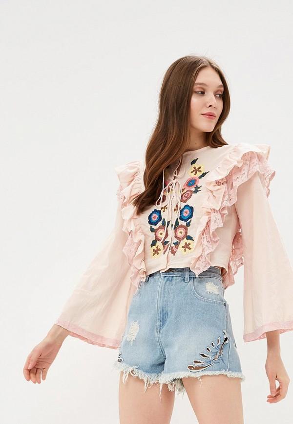Блуза Glamorous Glamorous GL008EWADAY0 блуза glamorous glamorous gl008ewadao4