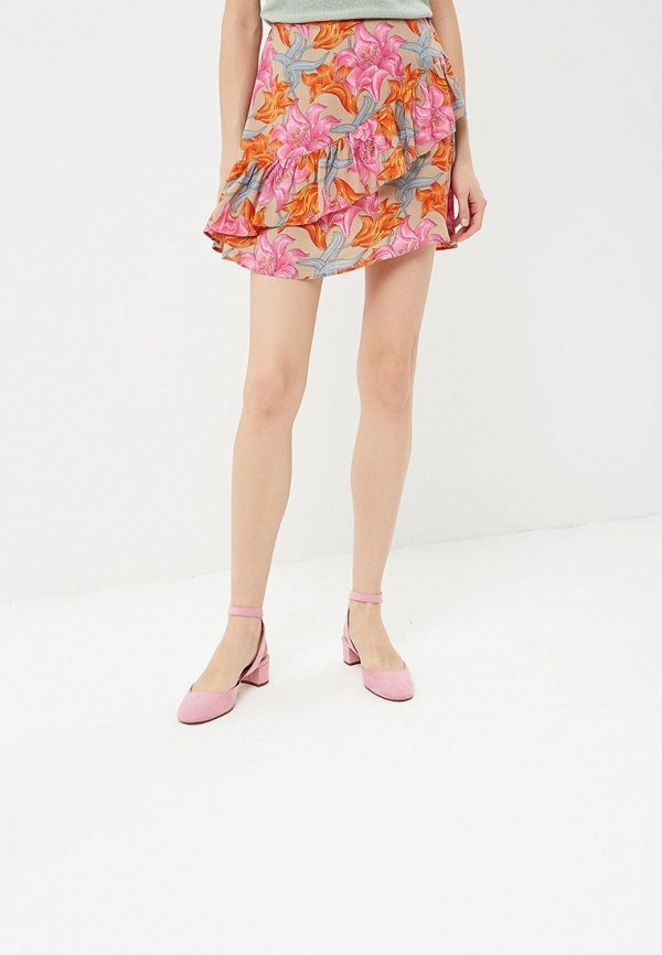 Юбка Glamorous Glamorous GL008EWBPFF2 блуза glamorous ck4122 light pink gingham