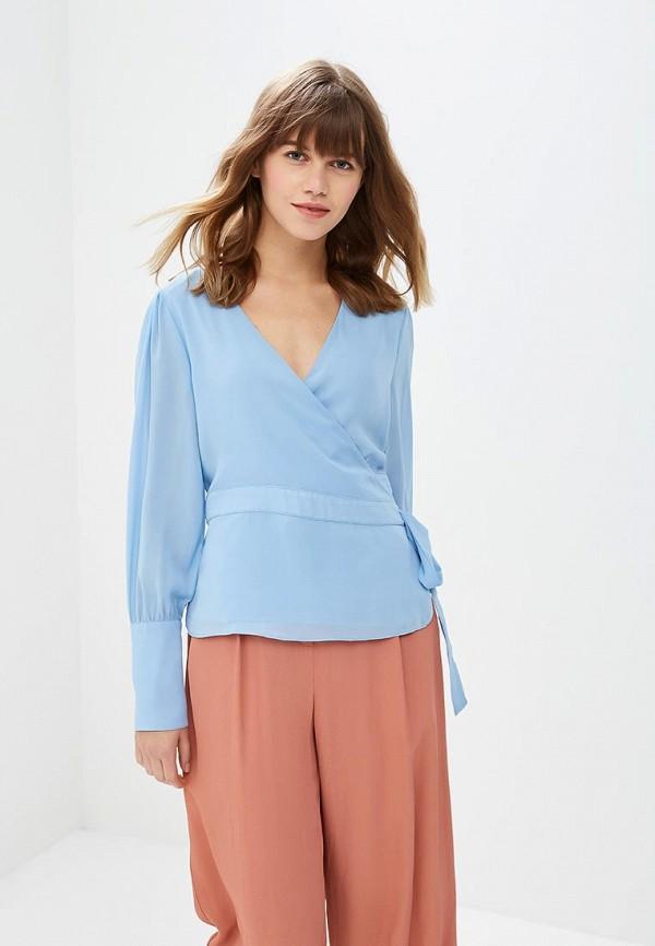 женская блузка glamorous, голубая