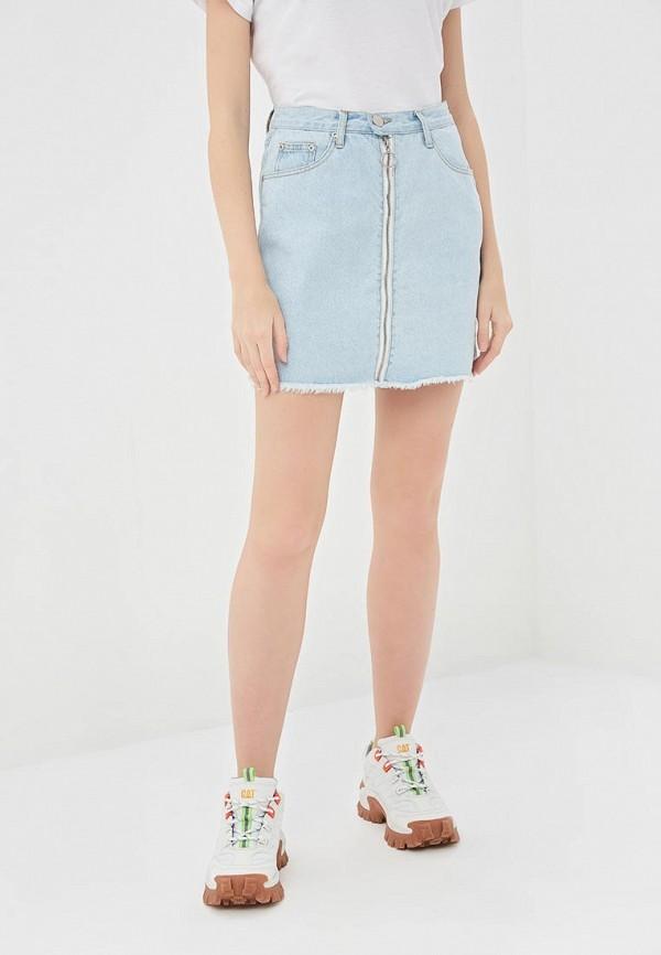 купить Юбка джинсовая Glamorous Glamorous GL008EWDJMI4 дешево