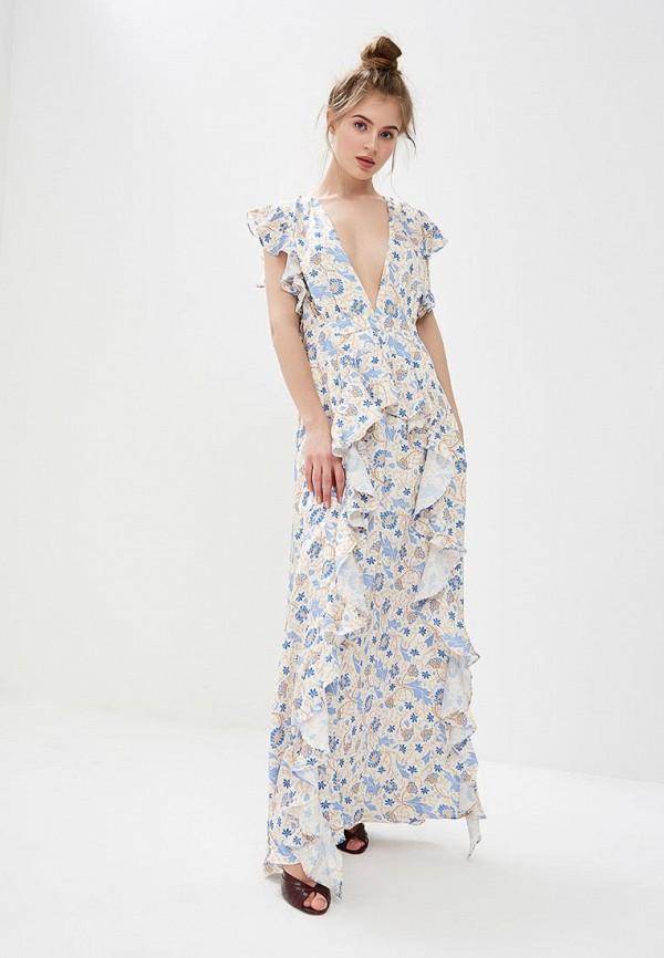 женское вечерние платье glamorous, бежевое
