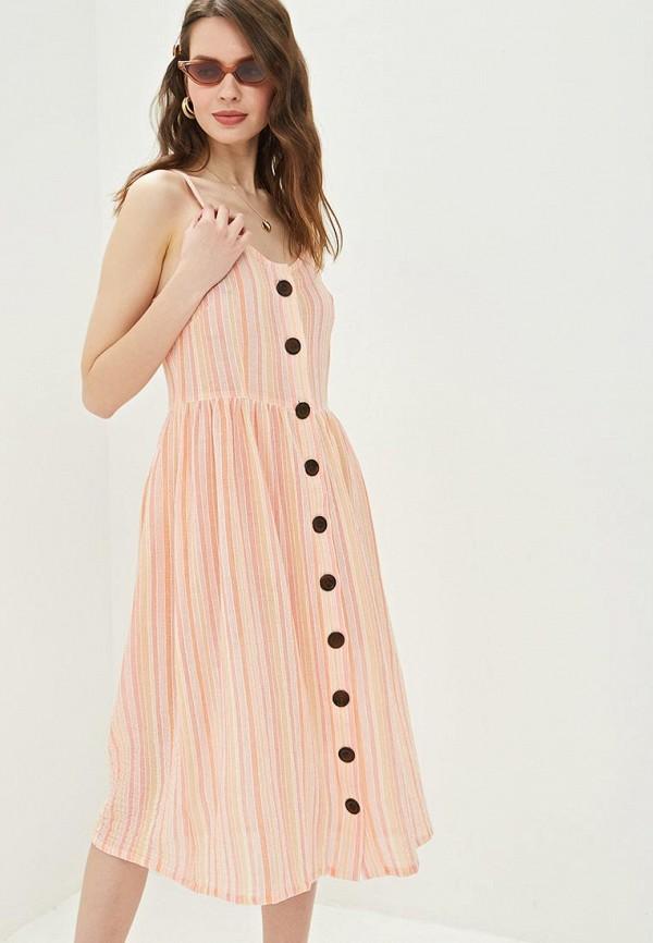женский сарафан glamorous, розовый